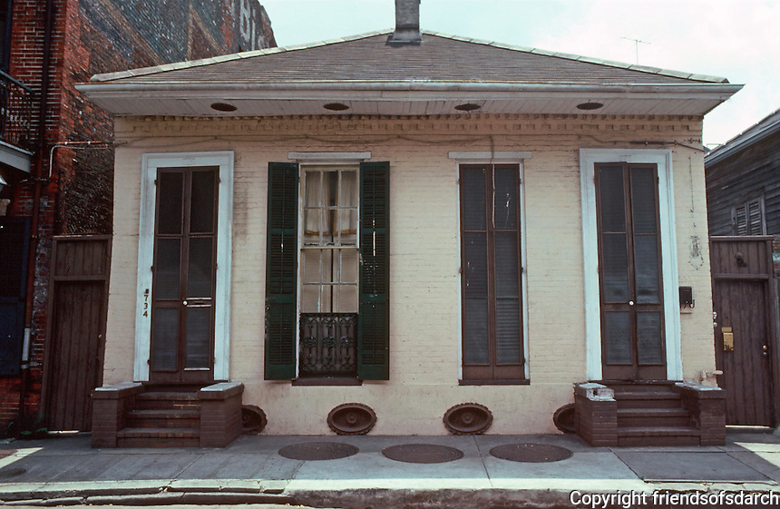 New Orleans:  734 Dumaine--2 Shotguns.
