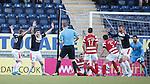 Falkirk appeal for a penalty kick
