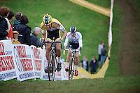 Tom Meeusen (BEL/Telenet-Fidea) & Zdenek Stybar (CZE/OmegaPharma-Quickstep)<br /> <br /> GP Mario De Clercq<br /> Hotondcross 2014