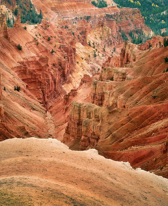 Canyon lands in Cedar Breaks National monument, Utah
