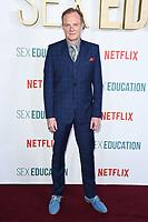 "Alistair Petrie<br /> arriving for the ""Sex Education"" season 2 launch at Genesis Cinema Mile End Road, London.<br /> <br /> ©Ash Knotek  D3547 08/01/2020"