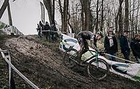Tim Merlier (BEL/Crelan-Charles)<br /> <br /> Elite Men's Race<br /> CX Vlaamse Druivencross Overijse 2017