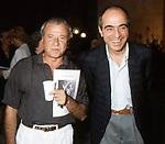 ACHILLE BONITO OLIVA E MARIO CEROLI<br /> MOSTRA MARIO CEROLI<br /> TERME DI CARACALLA ROMA 1991