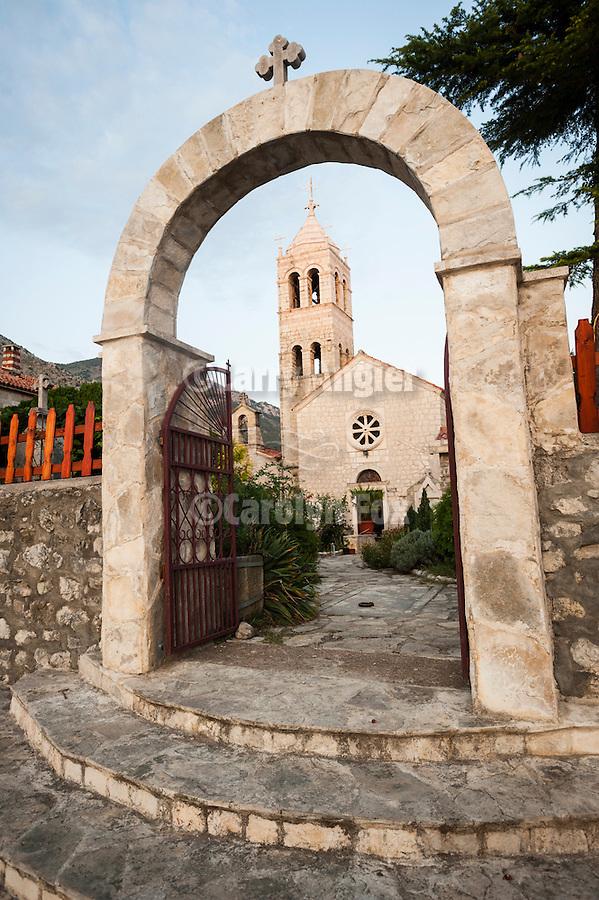 travels with Miloje--Adriatic coast--Rezevici Monastery north of Bar<br /> <br /> Manastir Rezevici, 13h century
