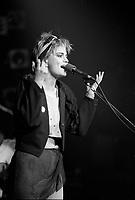 FILE -  Sabotage Bureau a<br /> Rock Envol, le 17 avril 1987<br /> <br /> PHOTO : Agence Quebec Presse