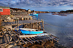Boats and Lobster Traps, Lower Prospect, Nova Scotia, Canada
