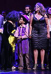 Diana Ross, Raymond Luke Jr., Brandon Victor Dixon  & Mary Wilson  during the Broadway Opening Night Performance Curtain Call for 'Motown The Musical'  at the Lunt Fontanne Theatre in New York City on 4/14/2013..