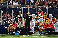 KANSAS CITY, KS - JULY 15: Gregg Berhalter Head Coach United States during a game between Martinique and USMNT at Children's Mercy Park on July 15, 2021 in Kansas City, Kansas.