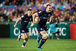 Nyle Godsmark of Scotland in action during their Pool C match between England and Scotland as part of the HSBC Hong Kong Rugby Sevens 2018 on 06 April 2018, in Hong Kong, Hong Kong. Photo by Marcio Rodrigo Machado / Power Sport Images