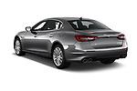 Car pictures of rear three quarter view of a 2018 Maserati Quattroporte S 2WD 4 Door Sedan angular rear