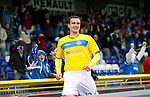 Inverness Caledonian Thistle v St Johnstone...27.10.12      SPL.David Robertson celebrates his late equaliser.Picture by Graeme Hart..Copyright Perthshire Picture Agency.Tel: 01738 623350  Mobile: 07990 594431