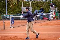 Netherlands, Oktober 17,  2021, Beneden-Leeuwen, KIA Competition Men, premier league, Lewabo vs Suthwalda, Doubles: Umpire<br /> Photo: Henk Koster/tennisimages.com