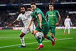 Marcelo Vieira of Real Madrid and Mikel Merino of Real Sociedad during La Liga match between Real Madrid and Real Sociedad at Santiago Bernabeu Stadium in Madrid, Spain. February 06, 2020. (ALTERPHOTOS/A. Perez Meca)