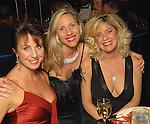 From left: Melanie Johnson, Tracy Hendrix and Bridgette Bottone at the Houston Children's Charity Gala at the Hyatt Regency Saturday Oct. 24,2009. (Dave Rossman/For the Chronicle)