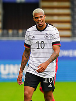 Germany's Lukas Nmecha (10) is pictured during a soccer game between the national teams Under21 Youth teams of Belgium and Germany on the 5th matday in group 9 for the qualification for the Under 21 EURO 2021 , on tuesday 8 th of September 2020  in Leuven , Belgium . PHOTO SPORTPIX.BE | SPP | SEVIL OKTEM