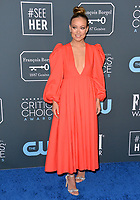 SANTA MONICA, USA. January 12, 2020: Olivia Wilde at the 25th Annual Critics' Choice Awards at the Barker Hangar, Santa Monica.<br /> Picture: Paul Smith/Featureflash