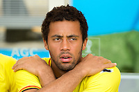 Mousa Dembele of Belgium starts on the bench