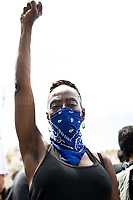 Unknown, Black Lives Matter Activist.