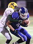 Images from the NIAA 4A regional football semi-final match-up between Manogue and Carson on Monday, Nov. 21, 2011, in Carson City, Nev. Carson won 32-21..Photo by Cathleen Allison