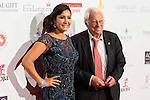 Maria Bravo and Padre Angel attends to the photocall of the Global Gift Gala at Cibeles Palace in Madrid. April 02, 2016. (ALTERPHOTOS/Borja B.Hojas)