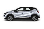 Car Driver side profile view of a 2020 Renault Captur E-Tech-First 5 Door SUV Side View