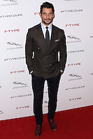 PLAYA VISTA, CA - NOVEMBER 19: David Gandy at the 2015 Jaguar F-TYPE Coupe Global Debut held at Raleigh Studios on November 19, 2013 in Playa Vista, California. (Photo by Xavier Collin/Celebrity Monitor)