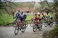 Koen de Kort (NED/Trek - Segafredo)<br /> <br /> 105th Ronde van Vlaanderen 2021 (MEN1.UWT)<br /> <br /> 1 day race from Antwerp to Oudenaarde (BEL/264km) <br /> <br /> ©kramon