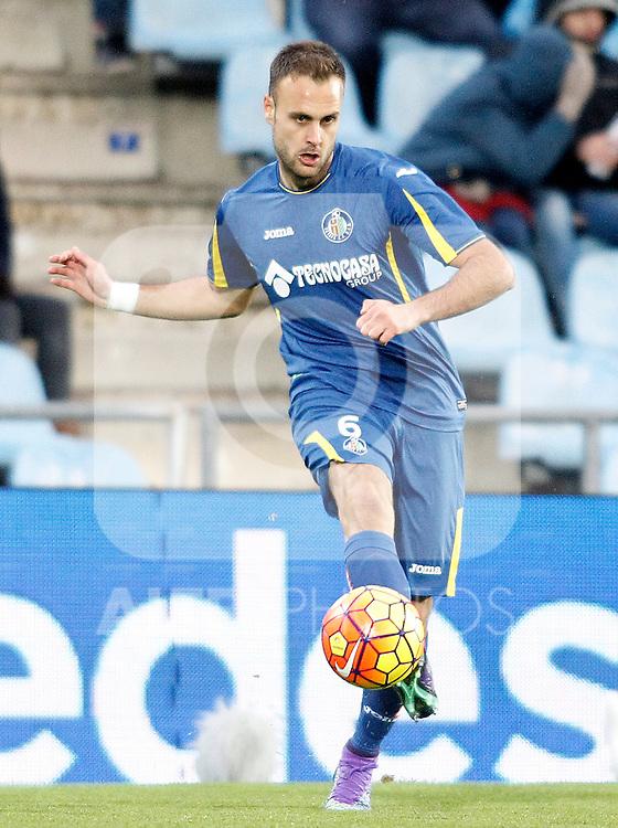 Getafe's Juan Cala during La Liga match. February 14,2016. (ALTERPHOTOS/Acero)