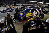 Monster Energy NASCAR Cup Series<br /> Bass Pro Shops NRA Night Race<br /> Bristol Motor Speedway, Bristol, TN USA<br /> Saturday 19 August 2017<br /> Daniel Suarez, Joe Gibbs Racing, Irwin / Lenox Toyota Camry<br /> World Copyright: Rusty Jarrett<br /> LAT Images