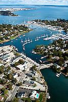 Aerial View of Wickford, Rhode Island