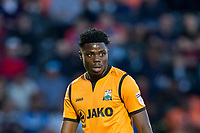 Justin Amaluzor of Barnet during the 2017/18 Pre Season Friendly match between Barnet and Swansea City at The Hive, London, England on 12 July 2017. Photo by Andy Rowland.