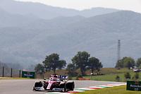 11th September 2020; Mugello race track, Scarperia e San Piero, Tuscany, Italy ; Formula 1 Grand Prix of Tuscany, Free practise; 11 Sergio Perez MEX, BWT Racing Point F1 Team