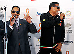 """Marlon Jackson and Jackie Jackson, Dec 12, 2011 : Marlon Jackson and Jackie Jackson attends the Amway Japan's charity event in Tokyo, Japan, on December 12, 2011. Jacksons visited to Japan for perform at an event """"Michael Jackson tribute live"""" in Tokyo, on December 13th and 14th."""