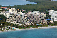 aerial photograph Key Colony condominiums Key Biscayne Florida
