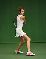 20131201,Netherlands, Almere,  National Tennis Center, Tennis, Winter Youth Circuit, Evy Markovic  <br /> Photo: Henk Koster