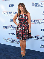 """WEST HOLLYWOOD - SEPT 1: Producer Monica Lewinsky attends a red carpet event for FX's """"Impeachment: American Crime Story"""" at Pacific Design Center on September 1, 2021 in West Hollywood, California. (Photo by Frank Micelotta/FX/PictureGroup)"""