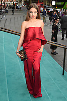 Xenia Tchoumitcheva<br /> arrives for the V&A Summer Party 2016, South Kensington, London.<br /> <br /> <br /> ©Ash Knotek  D3135  22/06/2016