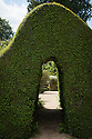Doorway in box hedge, Rousham House and Garden.