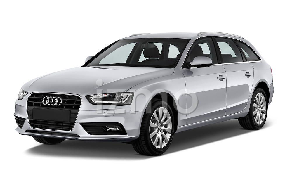Front three quarter view of a 2014 Audi A4 AMBITION LUXE 5 Door Wagon 2WD