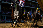 APRIL 30, 2021:  Travel Column with Florent Geroux leads the field for the Kentucky Oaks at Churchill Downs in Louisville, Kentucky on April 30, 2021. EversEclipse Sportswire/CSM