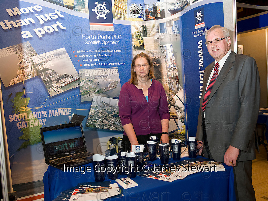 Falkirk Business Exhibition 2011<br /> Forth Ports PLC.