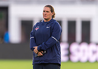 Washington, DC - August 25, 2018: The Portland Thorns defeated the Washington Spirit 1-0 during a National Women's Soccer League (NWSL) match at Audi Field.