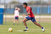 BRADENTON, FL - JANUARY 23: Jesus Ferreira moves with the ball during a training session at IMG Academy on January 23, 2021 in Bradenton, Florida.