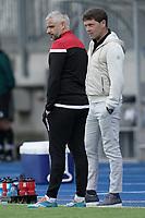 6th June 2021, Stade Josy Barthel, Luxemburg; International football friendly Luxemburg versus Scotland; Manager Mario Mutsch with Luc Holtz Trainer Luxemburg