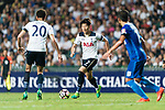 Tottenham Hotspur Forward Heung-Min Son (C) in action during the Friendly match between Kitchee SC and Tottenham Hotspur FC at Hong Kong Stadium on May 26, 2017 in So Kon Po, Hong Kong. Photo by Man yuen Li  / Power Sport Images