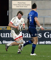 6 March 2021; Jordi Murphy during the Guinness PRO14 match between Ulster and Leinster at Kingspan Stadium in Belfast. Photo by John Dickson/Dicksondigital