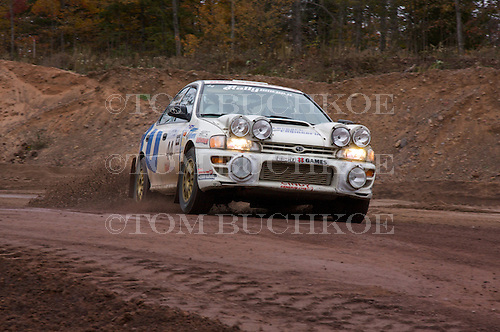 2009 Lake Superior Performance Rally held in the Upper Peninsula ofMichigan's Copper Country.
