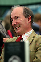 Saturday 24 May 2014, Hay on Wye UK<br /> Pictured: Charles Moore who has writen a book about former Conservative Prime Minister Margaret Thatcher.<br /> Re: The Telegraph Hay Festival, Hay on Wye, Powys, Wales UK.