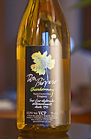 Bottle of Don Prospero Chardonnay Canelon Chico Bodega Carlos Pizzorno Winery, Canelon Chico, Canelones, Uruguay, South America