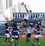 Uruguay play Chinese Taipei on Day 1 of the Cathay Pacific / HSBC Hong Kong Sevens 2013 at Hong Kong Stadium, Hong Kong. Photo by Aitor Alcalde / The Power of Sport Images